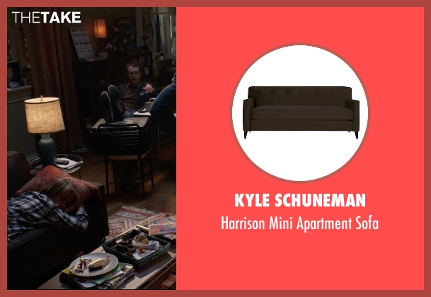 Kyle Schuneman sofa from Insidious: Chapter 3 seen with Dermot Mulroney (Sean Brenner)