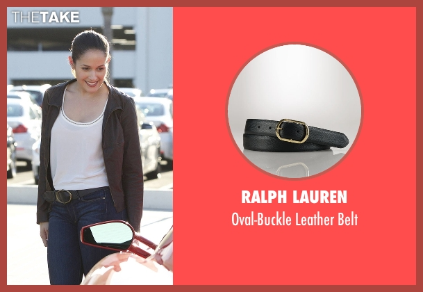 Ralph Lauren black belt from Rosewood seen with Det. Annalise Villa (Jaina Lee Ortiz)
