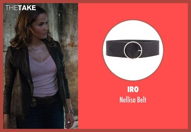 Iro black belt from Rosewood seen with Det. Annalise Villa (Jaina Lee Ortiz)