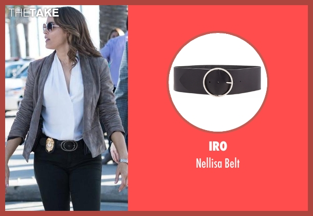 Iro black belt from Rosewood seen with Det. Annalise Villa (Jaina Lee Ortiz)