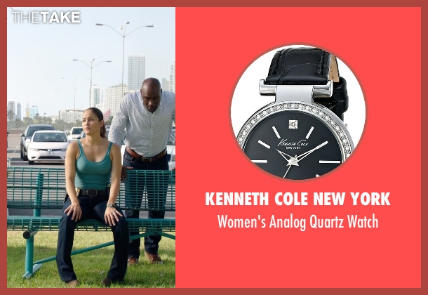 Kenneth Cole New York black watch from Rosewood seen with Det. Annalise Villa (Jaina Lee Ortiz)