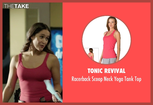 Tonic Revival pink top from Rosewood seen with Det. Annalise Villa (Jaina Lee Ortiz)
