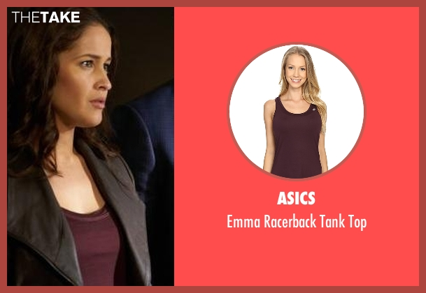 Asics purple top from Rosewood seen with Det. Annalise Villa (Jaina Lee Ortiz)