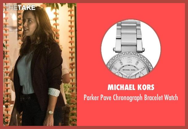 Michael Kors silver watch from Rosewood seen with Det. Annalise Villa (Jaina Lee Ortiz)