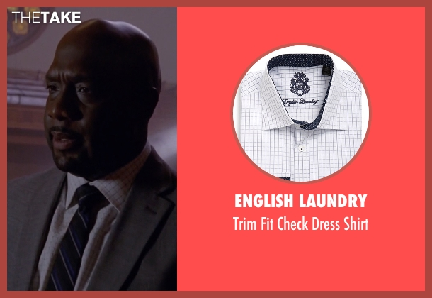 English Laundry white shirt from American Horror Story seen with Detective Hahn (Richard T. Jones)