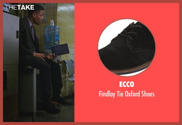 Ecco black shoes from Elementary seen with Detective Marcus Bell (Jon Michael Hill)