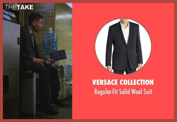 Versace Collection black suit from Elementary seen with Detective Marcus Bell (Jon Michael Hill)