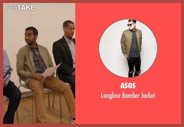 Asos beige jacket from Master of None seen with Dev (Aziz Ansari)