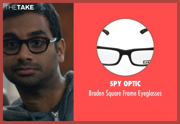 See Concept, Paris black eyeglasses from Master of None seen with Dev (Aziz Ansari)