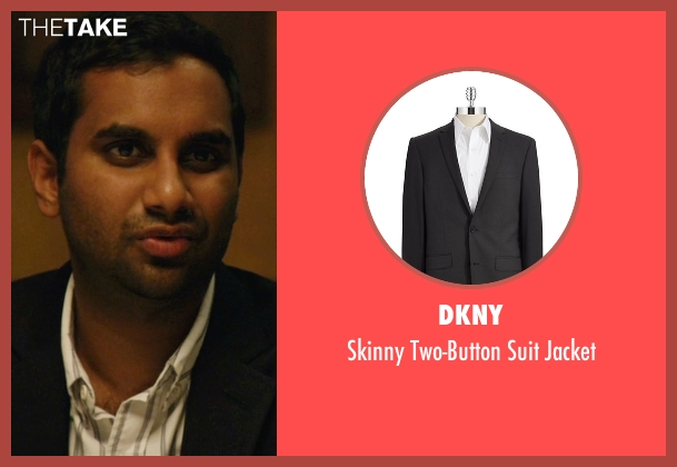 DKNY black jacket from Master of None seen with Dev (Aziz Ansari)