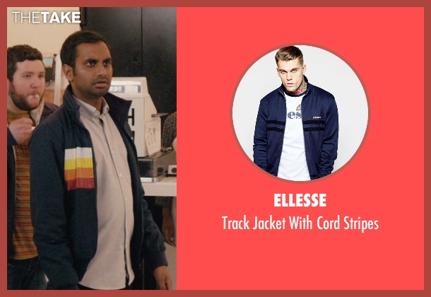 Ellesse blue stripes from Master of None seen with Dev (Aziz Ansari)