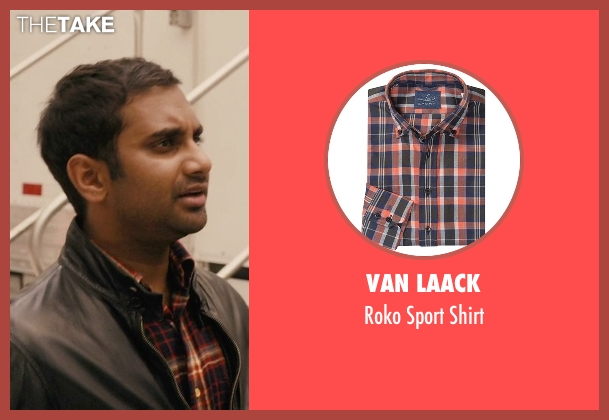 Van Laack orange shirt from Master of None seen with Dev (Aziz Ansari)