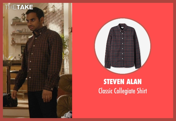 Steven Alan shirt from Master of None seen with Dev (Aziz Ansari)