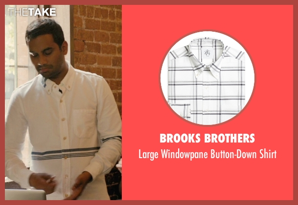 Brooks Brothers white shirt from Master of None seen with Dev (Aziz Ansari)
