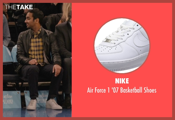Nike white shoes from Master of None seen with Dev (Aziz Ansari)