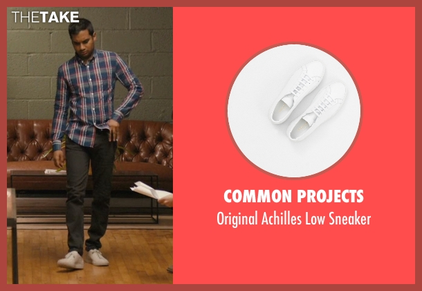Common Projects white sneaker from Master of None seen with Dev (Aziz Ansari)