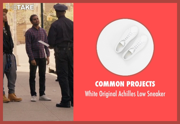 Common Projects white sneakers from Master of None seen with Dev (Aziz Ansari)