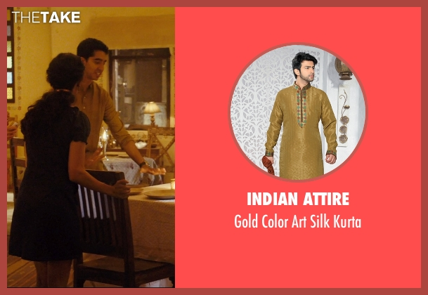 Indian Attire kurta from The Second Best Exotic Marigold Hotel seen with Dev Patel (Sonny Kapoor)