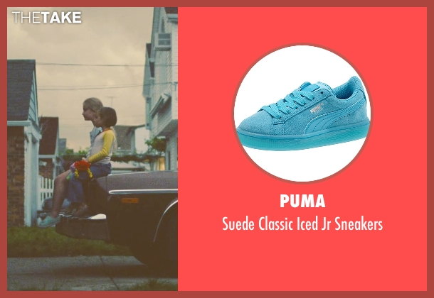 Puma blue sneakers from Trainwreck seen with Devin Fabry (Nine Year Old Amy)