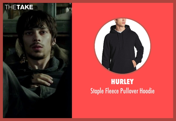 Hurley black hoodie from Regression seen with Devon Bostick (Roy Gray)