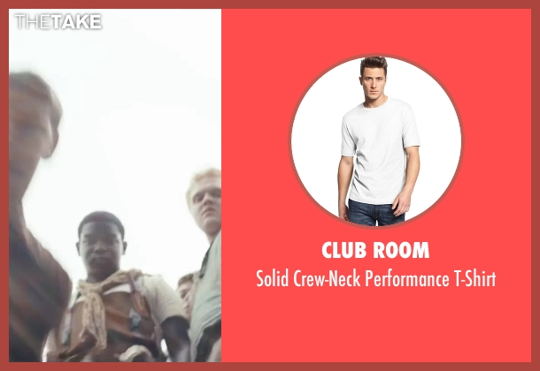 Club Room white t-shirt from The Maze Runner seen with Dexter Darden (Fry Pan)