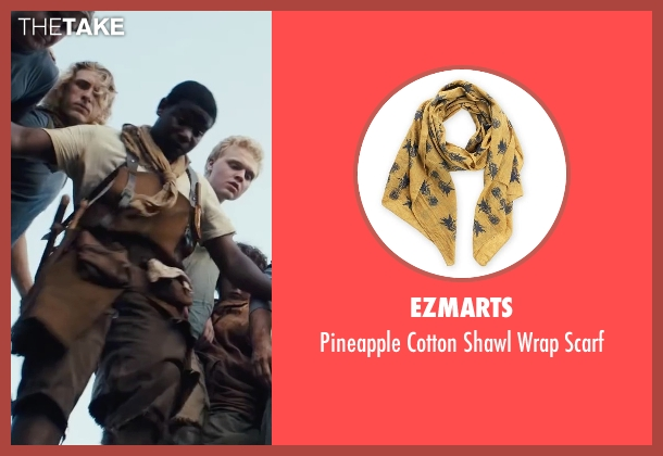 ezMarts yellow scarf from The Maze Runner seen with Dexter Darden (Fry Pan)