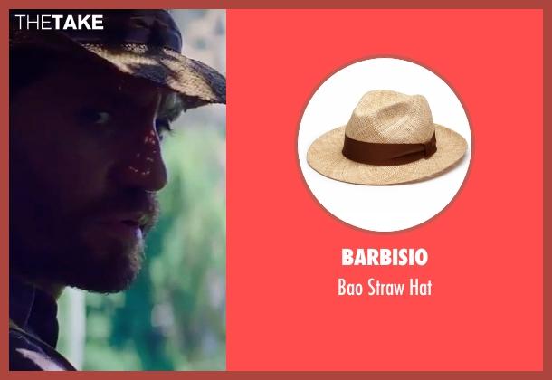 Barbisio beige hat from Gold seen with Édgar Ramírez (Michael Acosta)