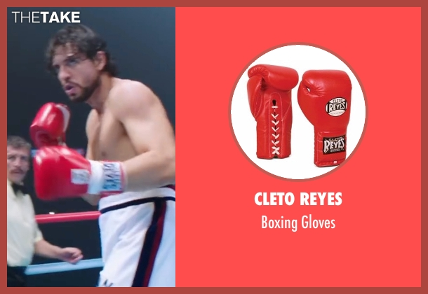 Cleto Reyes gloves from Hands of Stone seen with Édgar Ramírez (Roberto Duran)