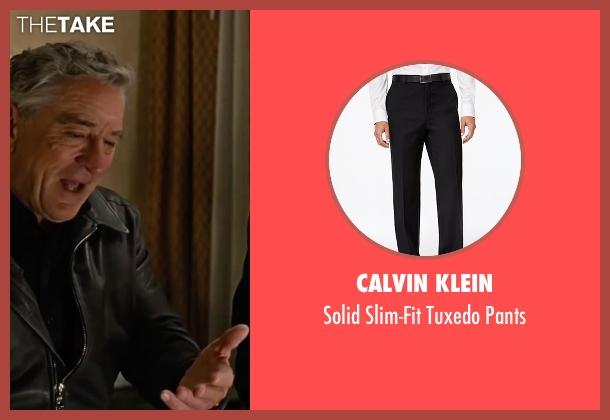 Calvin Klein black pants from Joy seen with Édgar Ramírez (Tony Miranne)