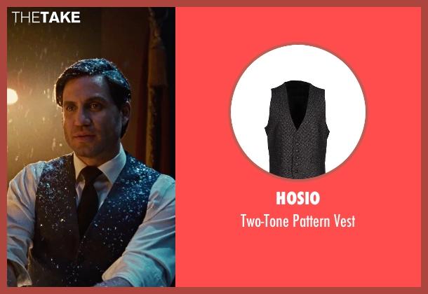 Hosio gray vest from Joy seen with Édgar Ramírez (Tony Miranne)