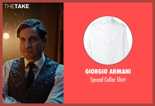 Giorgio Armani white shirt from Joy seen with Édgar Ramírez (Tony Miranne)