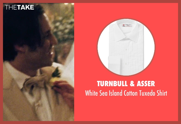 Turnbull & Asser white shirt from Joy seen with Édgar Ramírez (Tony Miranne)