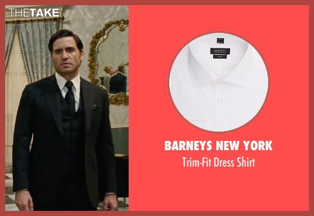 Barneys New York white shirt from Joy seen with Édgar Ramírez (Tony Miranne)