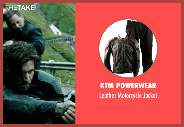 KTM Powerwear black jacket from Point Break seen with Édgar Ramírez (Bodhi)