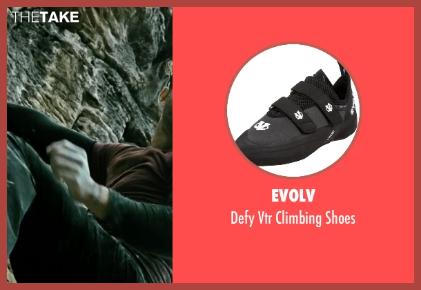 Evolv black shoes from Point Break seen with Édgar Ramírez (Bodhi)