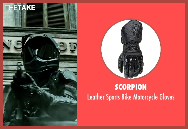 Scorpion gloves from Point Break seen with Édgar Ramírez (Bodhi)