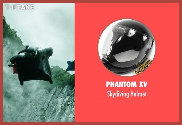 Phantom XV helmet from Point Break seen with Édgar Ramírez (Bodhi)