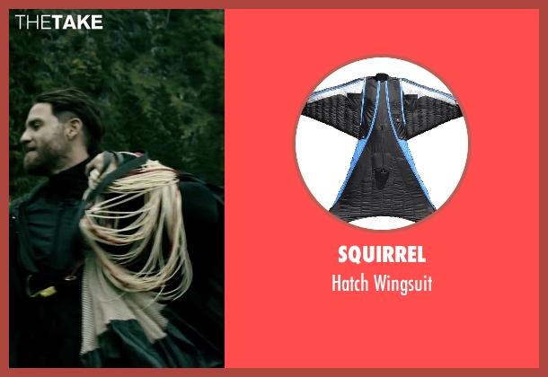 Squirrel wingsuit from Point Break seen with Édgar Ramírez (Bodhi)