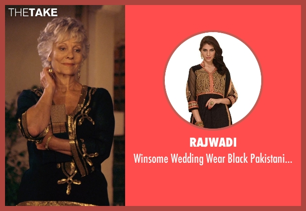 Rajwadi suit from The Second Best Exotic Marigold Hotel seen with Diana Hardcastle (Carol Parr)