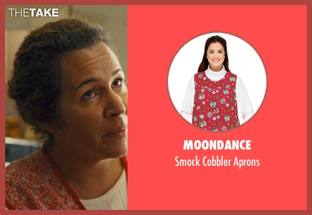 Moondance aprons from McFarland, USA seen with Diana Maria Riva (Senora Diaz)