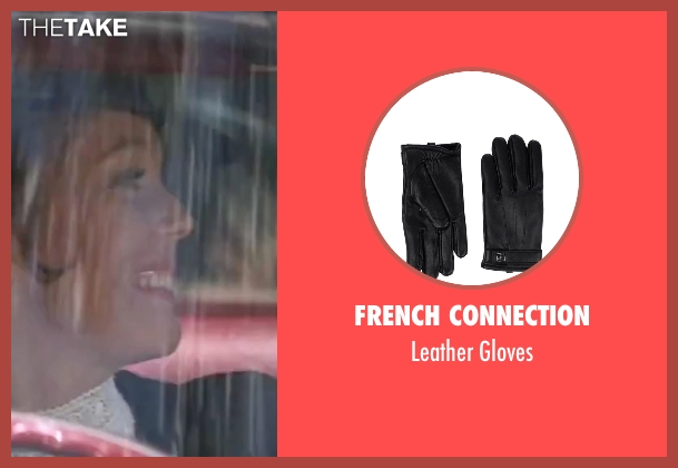 French Connection black gloves from On Her Majesty's Secret Service seen with Diana Rigg (Tracy)