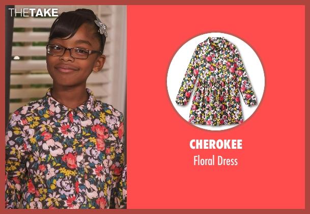 Cherokee dress from Black-ish seen with Diane Johnson (Marsai Martin)