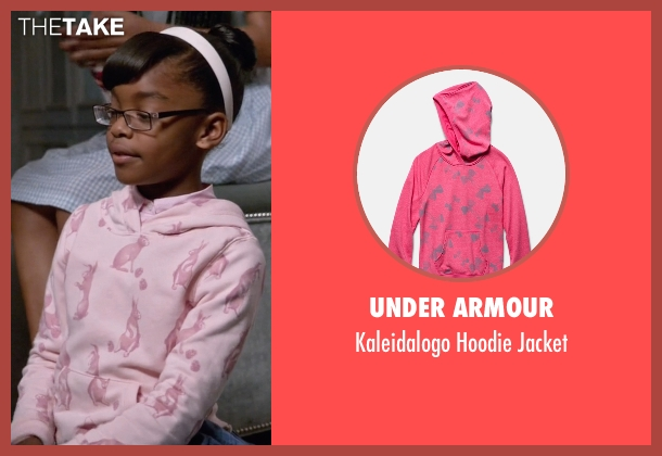 Under Armour pink jacket from Black-ish seen with Diane Johnson (Marsai Martin)
