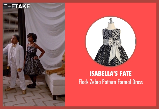 Isabella's Fate silver dress from Black-ish seen with Diane Johnson (Marsai Martin)