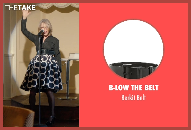 B-Low The Belt black belt from And So It Goes seen with Diane Keaton