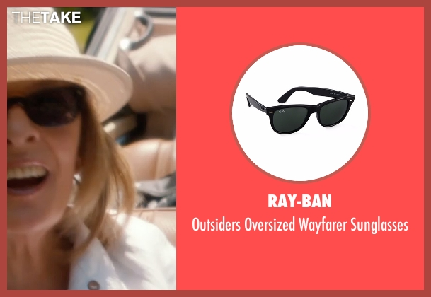 Ray-Ban black sunglasses from And So It Goes seen with Diane Keaton (Unknown Character)