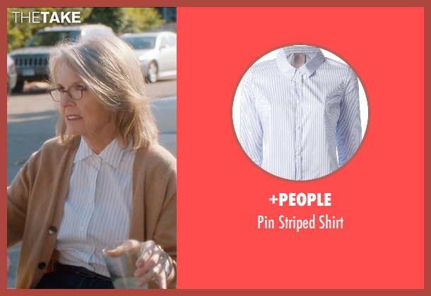 +People white shirt from And So It Goes seen with Diane Keaton