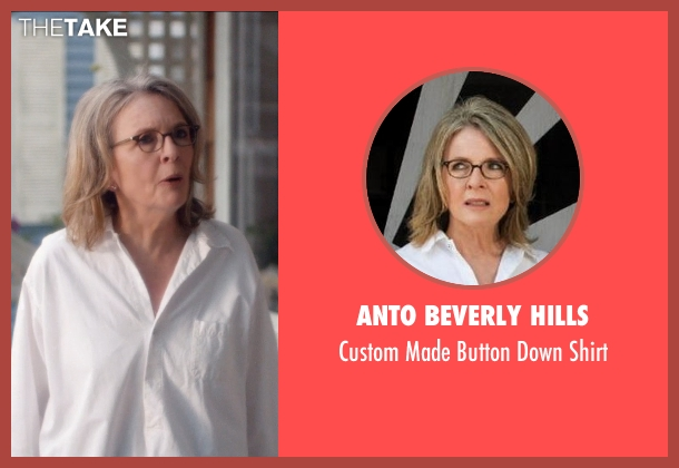 Anto Beverly Hills white shirt from And So It Goes seen with Diane Keaton (Leah)