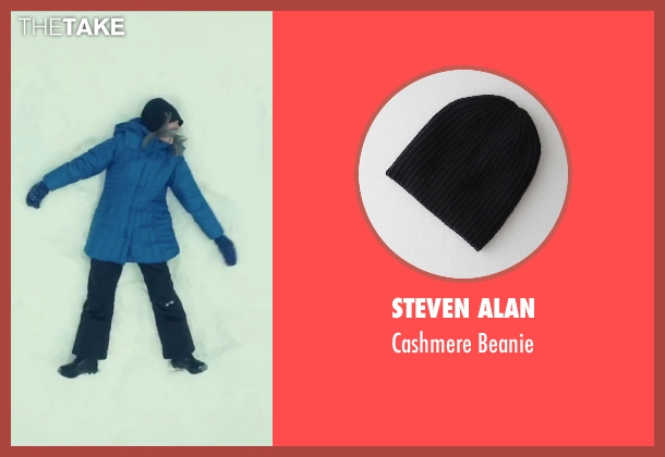 Steven Alan black beanie from Love the Coopers seen with Diane Keaton (Charlotte)