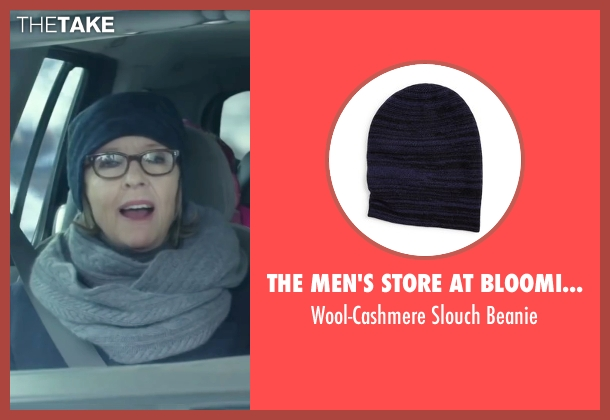 The Men's Store at Bloomingdale's black beanie from Love the Coopers seen with Diane Keaton (Charlotte)